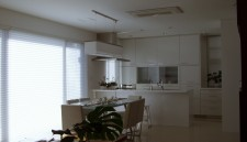オーダーキッチン(戸建て)横浜の家